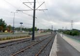 Budowa linii tramwajowej przy alei Sikorskiego (16 września 2015)