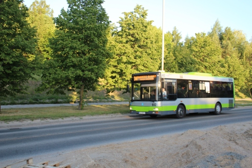 MAN NM223 na alei Sikorskiego © OlsztyńskieTramwaje.pl