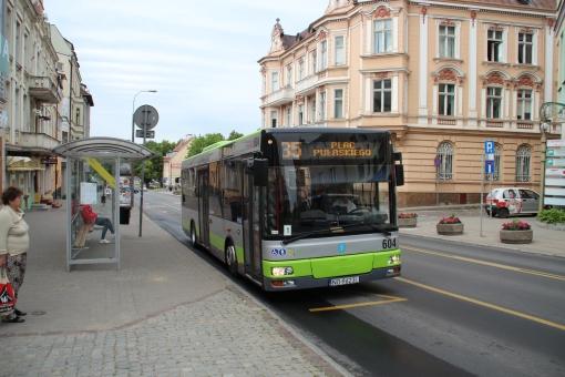 MAN NM223 na przystanku Św. Wojciecha