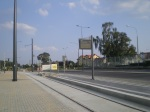 Budowa linii tramwajowej przy ulicy Tuwima (1 września 2015) – przystanekPozorty
