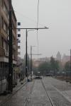 Budowa linii tramwajowej w ulicy 11 Listopada (18 października2015)
