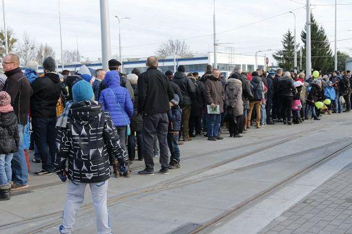 Dzień otwarty w zajezdni tramwajowej (6 grudnia 2015)