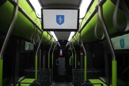 Wnętrze Solarisa Tramino Olsztyn S111O #3009 (27 grudnia 2015)