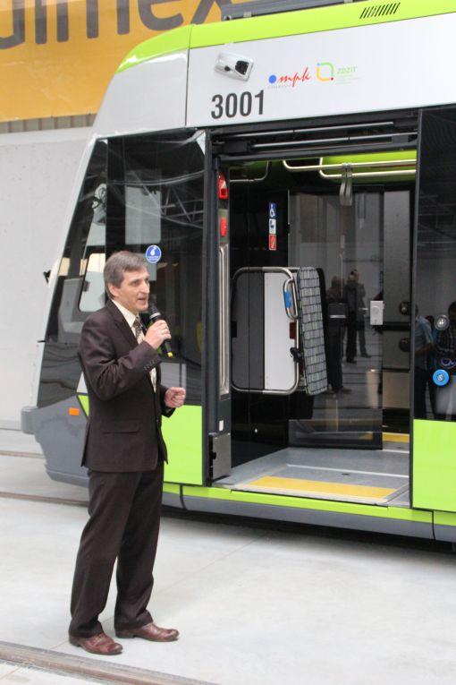Dariusz Długaszek, dyrektor ds. sprzedaży pojazdów szynowych Solaris Bus & Coach
