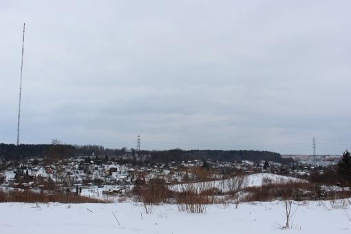 Widok z ulicy Pstrowskiego w stronę Pieczewa