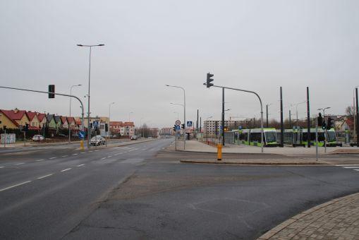 Okolice przystanku końcowego Kanta (4 marca 2016)