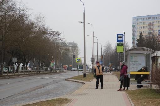 Przystanek Dom Kultury Agora na ulicy Żołnierskiej