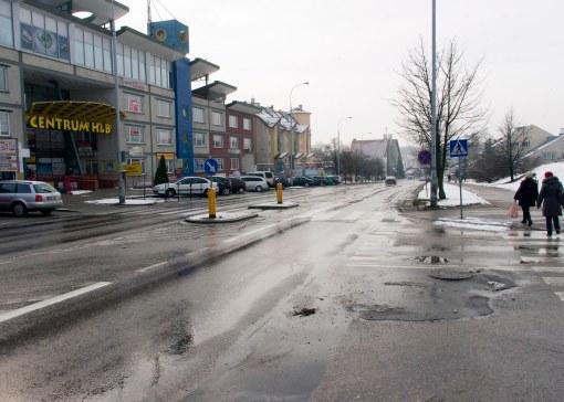 Skrzyżowanie ulic Wilczyńskiego i Hanowskiego