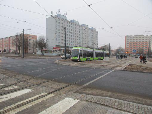 Przystanek końcowy Dworzec Główny na placu Konstytucji 3 Maja