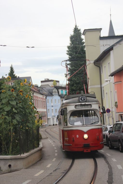 Lohner T4 #8 na Herakhstraße w Gmunden