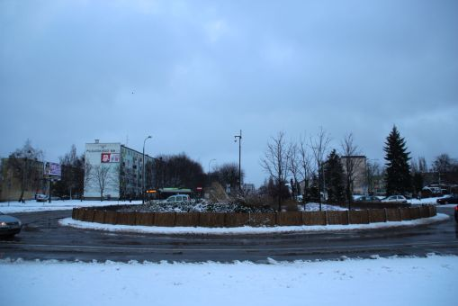 Rondo na placu Inwalidów Wojennych