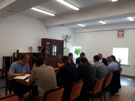 Posiedzenie komisji przetargowej ws. taboru tramwajowego (22 sierpnia 2017)