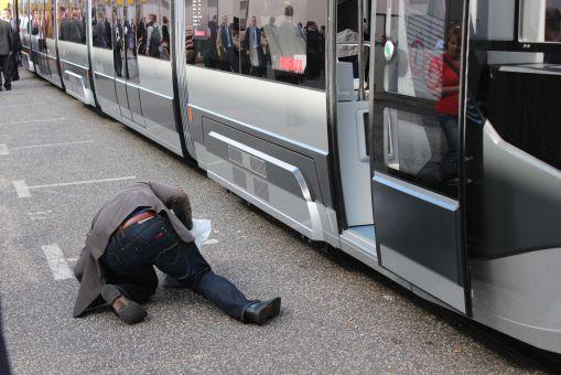 Durmazlar SilkWorm już na targach InnoTrans 2012 w Berlinie budził spore zainteresowanie