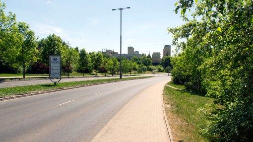 Ulica Synów Pułku (13 maja 2018)