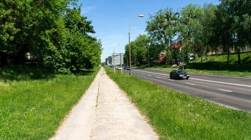 Ulica Wyszyńskiego (13 maja 2018)