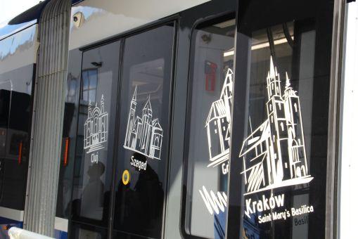 "Pesa Twist 2014N ""Krakowiak"" na targach InnoTrans 2016 w Berlinie"