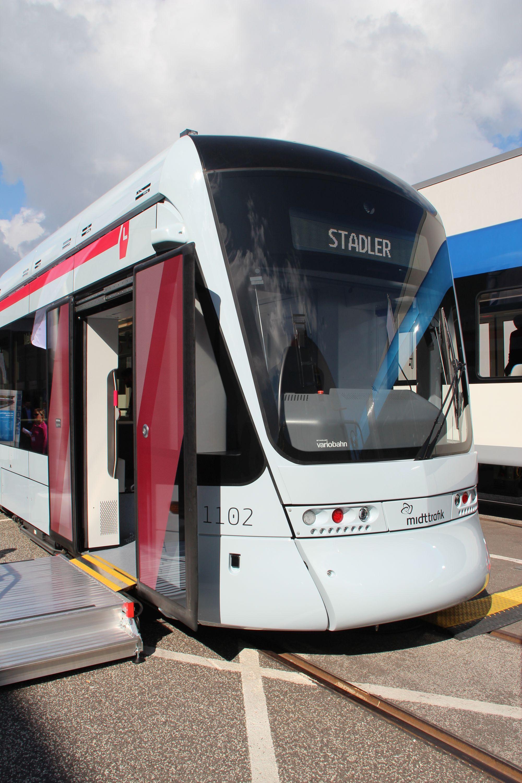 Stadler Variobahn dla duńskiego Aarhus na targach InnoTrans 2016 w Berlinie