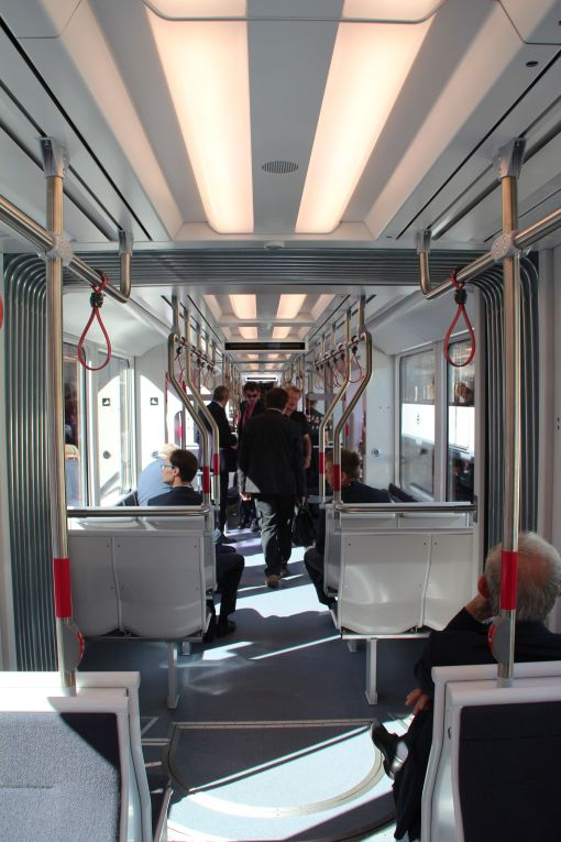 Wnętrze Stadlera Variobahn dla duńskiego Aarhus