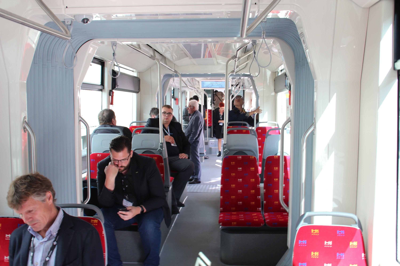 Wnętrze Škody 30T ForCity dla Bratysławy