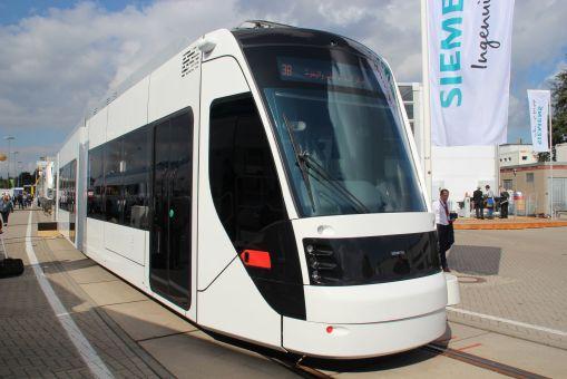 Siemens Avenio dla Ad-Dauhy na targach InnoTrans 2016 w Berlinie
