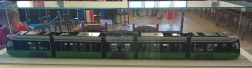 Model Durmazlara Panorama dla Olsztyna w olsztyńskim ratuszu