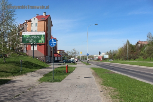 Aleja Sikorskiego (29 kwietnia 2012)