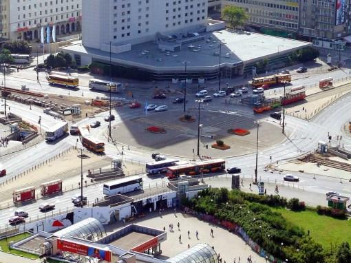 Rondo Dmowskiego w Warszawie (28 lipca 2007)