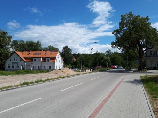 Nowa ulica, którą proponujemy nazwać Trolejbusową - prowadzi do Muzeum Nowoczesności i dawnej zajezdni trolejbusowej