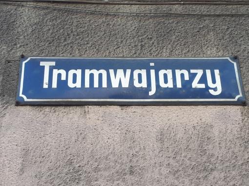 Ulica Tramwajarzy w Bytomiu