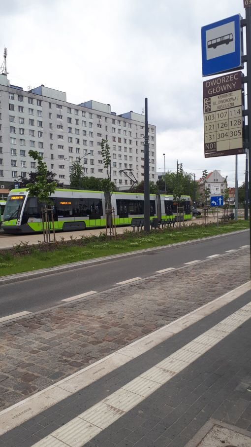 Przystanek Dworzec Główny (6 czerwca 2020)